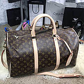 Softsided Luggage Louis Vuitton Keepall 55 Monogram