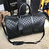 Softsided Luggage Louis Vuitton Keepall 55 Damier Infini