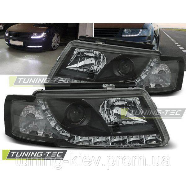 Передние фары VW PASSAT 5B 3B 11.96-08.00 DAYLIGHT BLACK