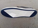 Кроссовки  кеды мужские кожаные синие 40 -45 р-р, фото 4