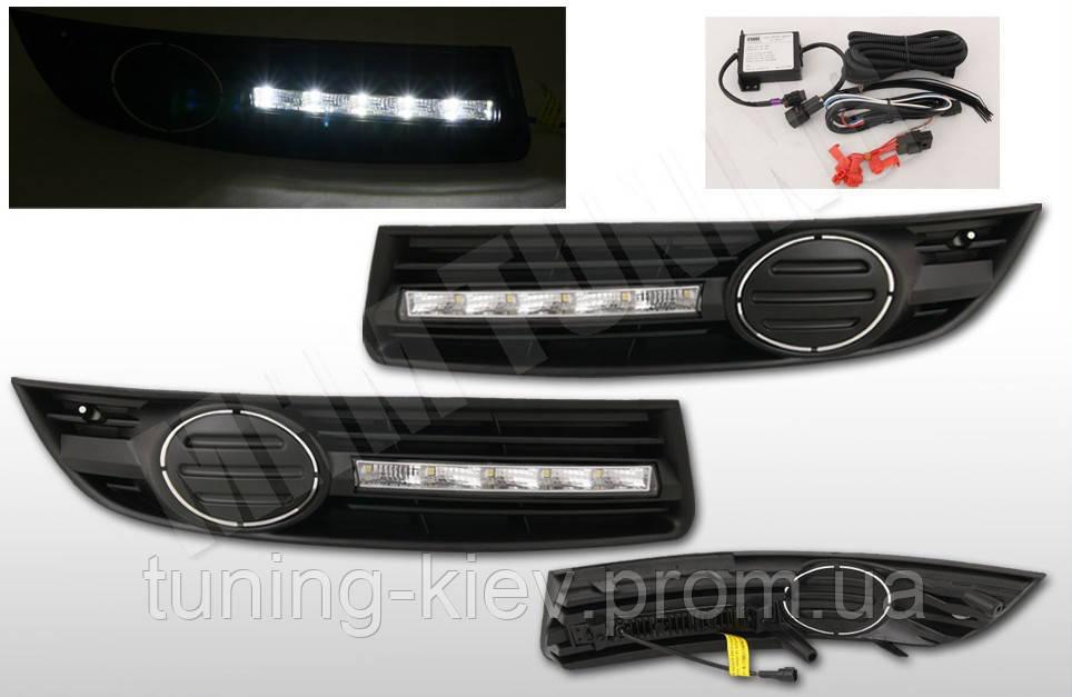 Дневные ходовые огни (DRL) VW PASSAT B6