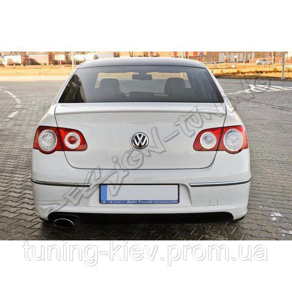 Накладка задняя VW Passat B6 Sedan (2005-...) R-line