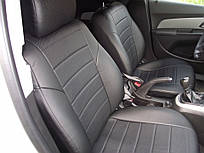 Авточехлы из экокожи Автолидер для  Chery Tiggo 5 с 2016-н.в. джип  черные