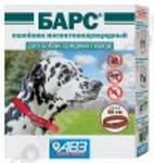 Нашийник Барс Інсектоакар для собак середніх порід АВЗ