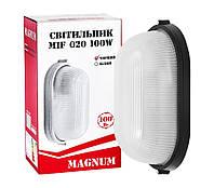 Светильник ЖКХ 100Вт овал IP54 под ЛЕД лампу, MAGNUM, MIF020