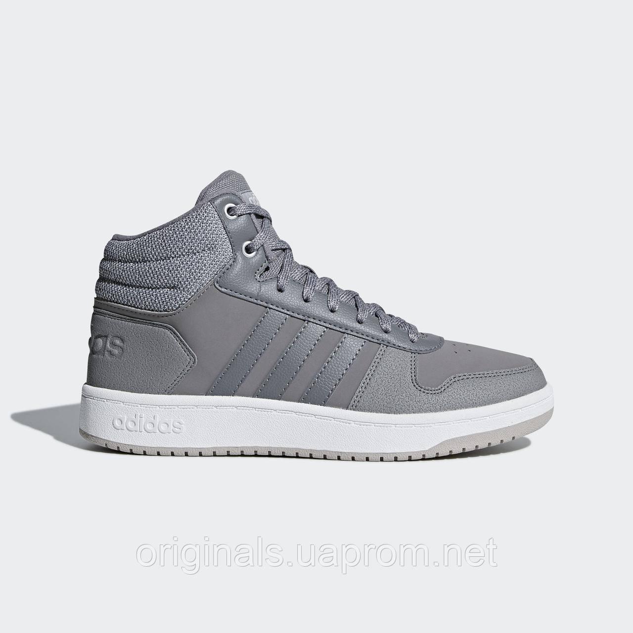 11461a7a Женские кроссовки Adidas Hoops 2.0 Mid B42106 - 2018/2 - интернет-магазин  Originals