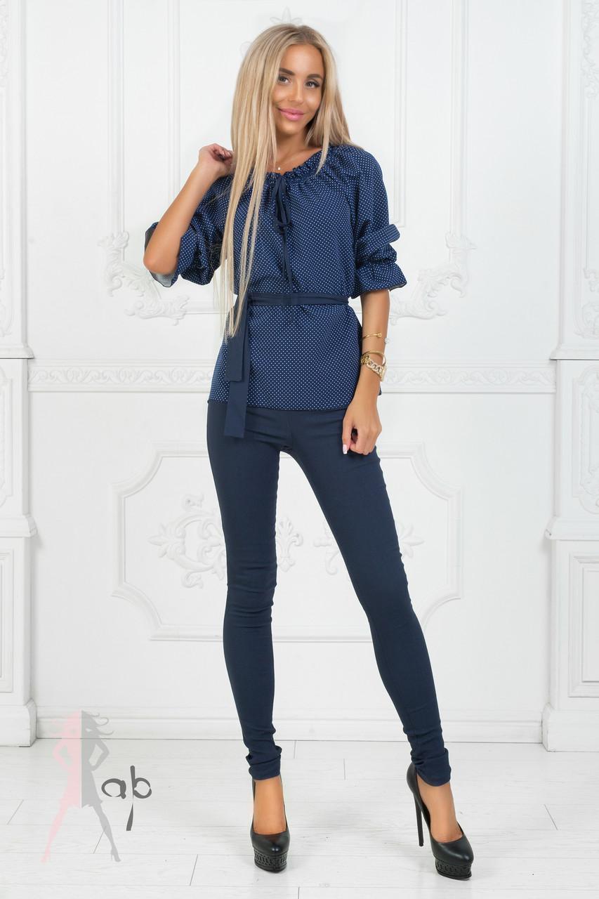 25ebf3d1b14 Женский классический брючный костюм синего цвета.  продажа