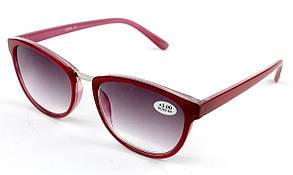 Готовые очки в пластиковой оправе LEVEL