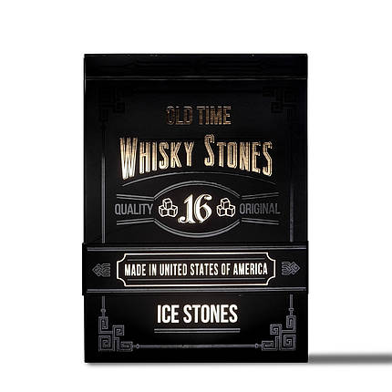 Камни для виски XL - 16 штук Whisky Stones (СЕРТИФИКАТ), фото 2