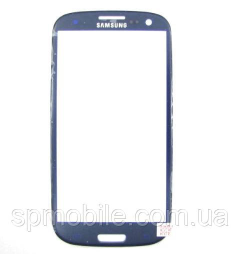 Стекло дисплея Samsung i9300 Galaxy S3 Blue