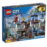 "Lego 60174. Игрушка-конструктор ""Полицейский участок в горах"", фото 1"