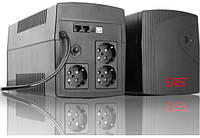 Источник бесперебойного питания East EA-1000U Line Int., AVR, 3xSchuko, USB (05900008) 501 - 1000 ВА