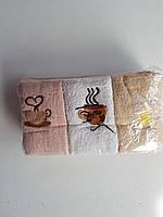 Кухонные  полотенца  кофе