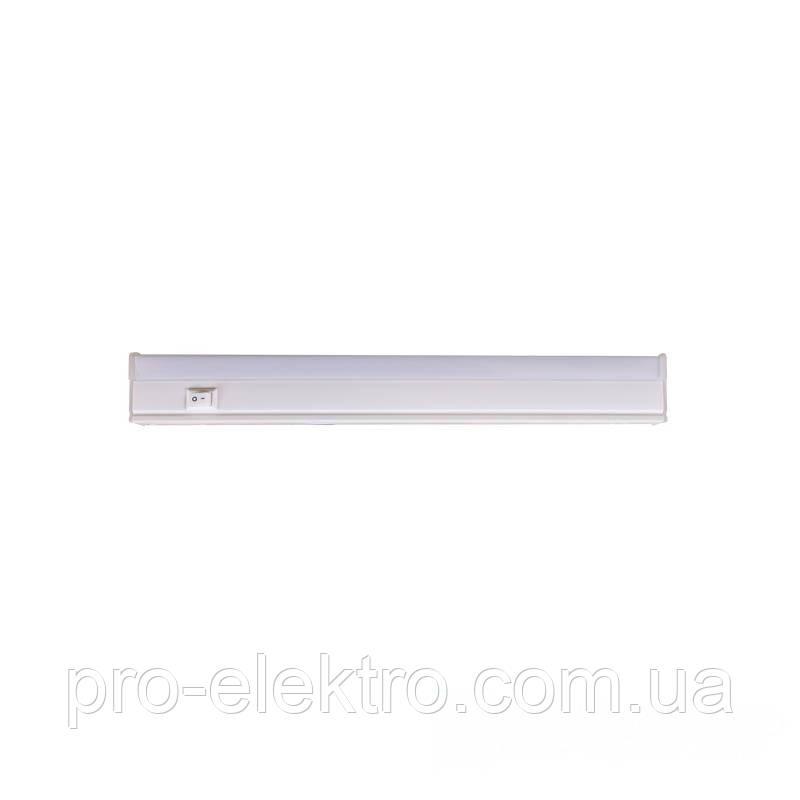 Светодиодные мебельные светильники EH-T5-01 6W 268х35х21мм 6500K 510Lm 210°