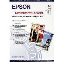 Фотобумага Epson Premium Semigloss Photo Paper Полуглянцевая, 260г/м кв, А3, 20л (C13S041334)