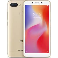 Смартфон Xiaomi Redmi 6 3/32Gb Gold Global firmware (CN) 12 мес
