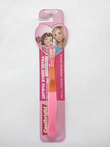 Coolbright зубна щітка дитяча Girl (8220)