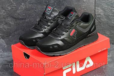 Кроссовки в стиле Fila (черные) код товара 6186