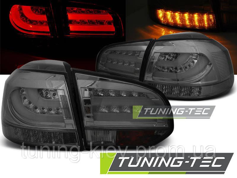 Задние фонари VW GOLF 6 10.08-12 SMOKE LED BAR