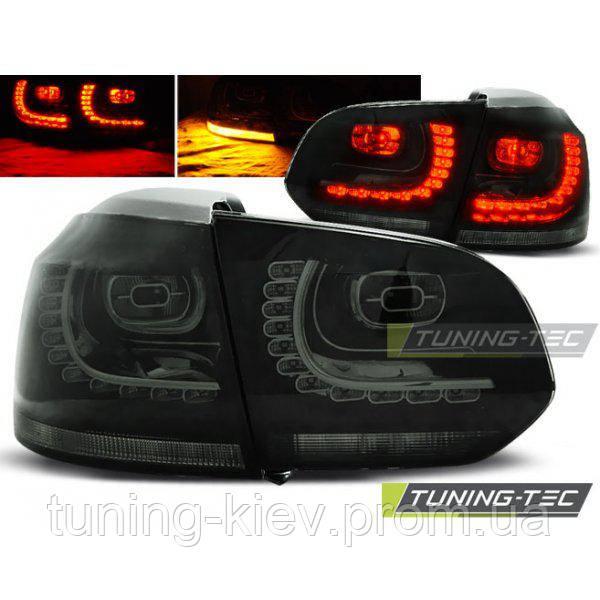 Задние фонари VW GOLF 6 10.08-12 SMOKE