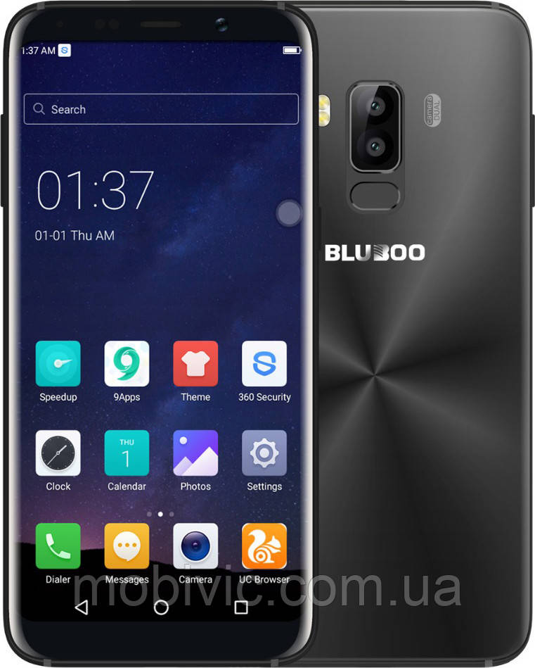 Смартфон Bluboo S8 (black) оригинал - гарантия!