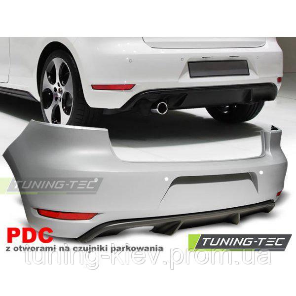 Задний бампер VW GOLF 6 GTI STYLE SINGLE PDC