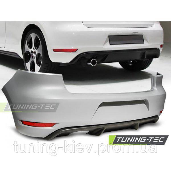 Задний бампер VW GOLF 6 GTI STYLE SINGLE