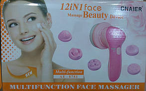Массажер для Лица Multifunction Face Massager AE-8781, фото 2