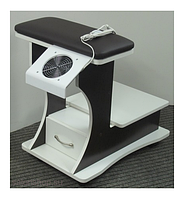 Подставка для ног педикюрного кресла передвижная педикюрная пуф подставка для педикюра (БЕЗ вытяжки) VM_29