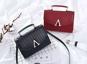 Модная женская сумка сундучок V