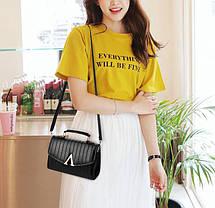 Модна жіноча сумка скриньку, фото 2