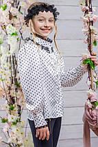 Школьная блузка на девочку SH-8, фото 3