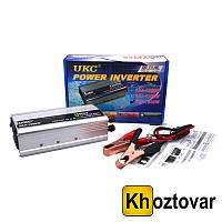 Автомобильный инвертор 1500W Преобразователь 12V-220V