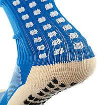 Футбольные гетры Europaw голубые, фото 3
