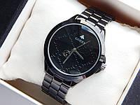 Наручные часы Gucci черного цвета с черным циферблатом, фото 1