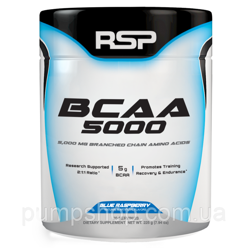 БЦАА RSP Nutrition BCAA 5000 30 порц. (уценка)