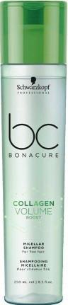 Акция !!! Шaмпyнь мицеллярный для oбъeмaSchwarzkopf BC Bonacure Collagen Volume Boost Micellar250 мл