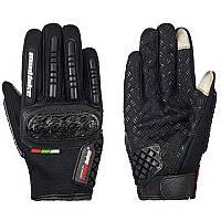 MADBIKE MAD-06, Black, M, Мотоперчатки текстильные с защитой, фото 1