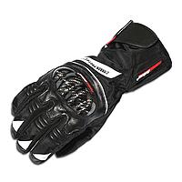 MADBIKE MAD-19, Black, M, Мотоперчатки текстильные утепленные с защитой, фото 1