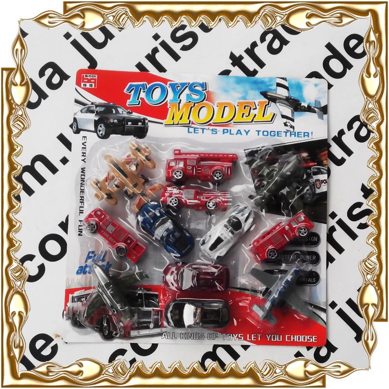 Набор техники Toys Model 12 в 1 № 1662/1666