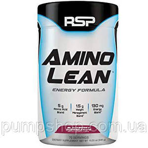 Амінокислоти+жіросжігателя+енергія RSP Nutrition AminoLean 70 порц.
