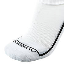 Футбольные гетры Europaw белые с трикотажным носком , фото 3