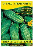 Насіння огірка Сремский F1, 0,5 кг