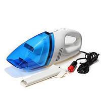 Компактный автомобильный пылесос High-power Portable Vacuum Cleaner 60W 12V от прикуривателя, фото 1