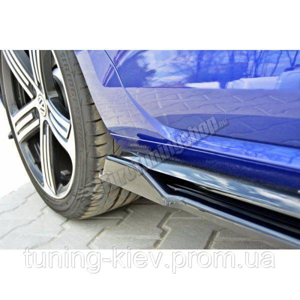 Диффузоры порогов VW GOLF MK7 R рестайл
