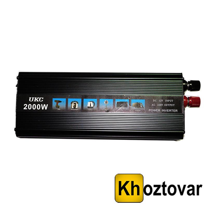 Инвертор Преобразователь AC/DC 2000W 12-220