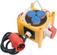 Распределитель напряжения компактный мини; IP44; с кабелем