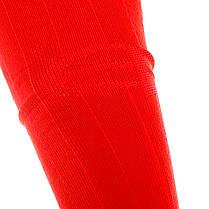 Футбольные гетры Europaw красные с трикотажным носком, фото 3