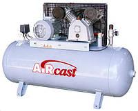 Компрессор поршневой Aircast РМ-3128.01 (СБ4/Ф-270.LB50) 380в, фото 1