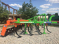 Культиватор навесной КПН КПА КПС КПЕ КН 4 м под МТЗ 80 л.с. 4-рядный с гребенкой и катком, фото 1